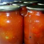 Прибалтийские консервированные помидоры