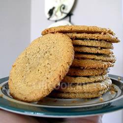 Ореховое печенье без муки