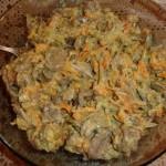Салат из говяжьего сердца с чесноком