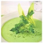Суп с авокадо.