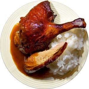 Курица в имбирно-соевом маринаде
