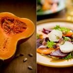 Салат со свеклой и семенами тыквы