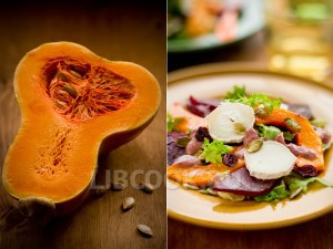 Салат со свеклой с семенами тыквы