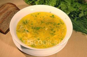 Суп гороховый.