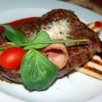Филе говядины по-неаполитански