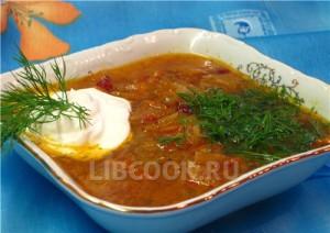 суп крестьянский 2