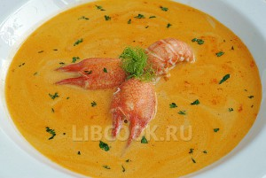«Биск» Французский суп из раков