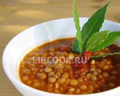 Чечевица зеленая суп пюре рецепт с с пошаговый