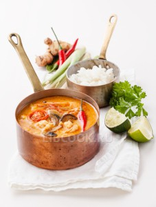 Корейский суп из морепродуктов