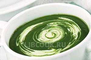 Крем-суп со шпинатом