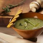 Куриный суп со шпинатом