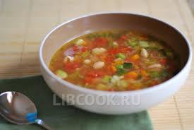 Мексиканский овощной суп с сыром