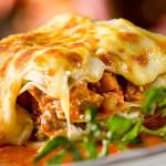 Овощная лазанья с сыром