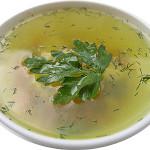 Овощной суп с брокколи и сыром