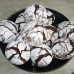 Шоколадное печенье Трещинки