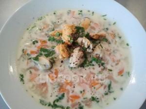 Суп из омара