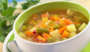 Суп со стручковой фасолью