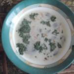 Суп сырный с картошкой