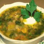 Сырный суп с гречкой