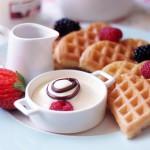 Вафли на йогурте