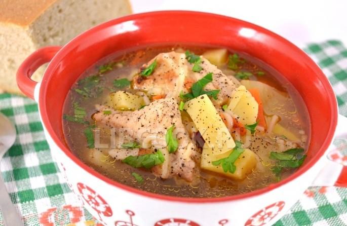 суп из свинины с картошкой рецепт с фото в