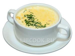 Вьетнамский крем-суп с сыром