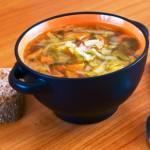Суп из сельдерея с индейкой