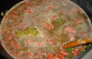 крабовый суп по-луизиански
