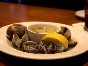 манхэттенский суп с молюсками