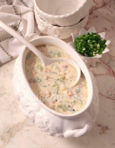 сливочный суп из устриц