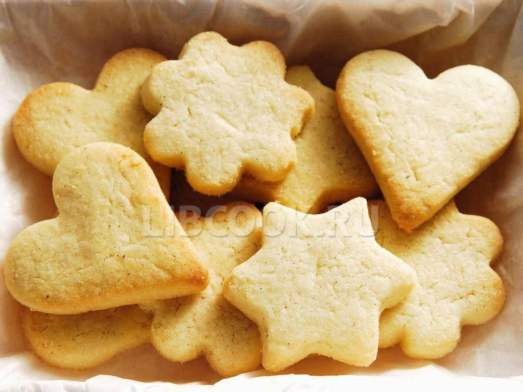 фигурное печенье рецепт с фото