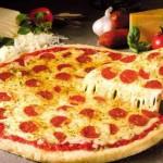 Пицца из пресного  теста  без дрожжей