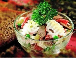 Салат мясное ассорти