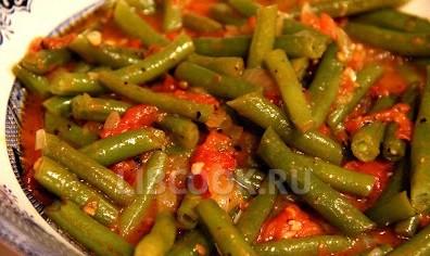 Фасоль стручковая с томатом рецепты приготовления