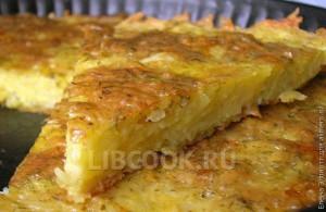 Запеканка из картофельного пюре с сыром