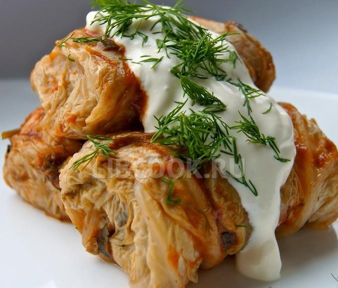 Голубцы из китайской капусты с грибами рецепт пошагово с фото