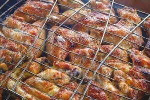 Куриные крылишки на мангале