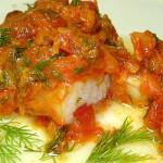 Рыба «По-гречески»