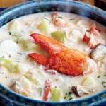 Чаудер с мясом омара по-багамски