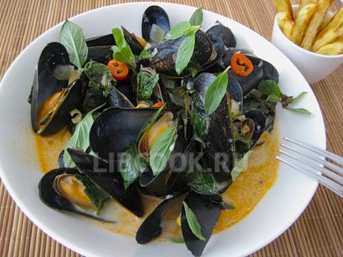 Мидии потайски простые рецепты тайской кухни