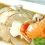 Омар и морские ушки в соусе