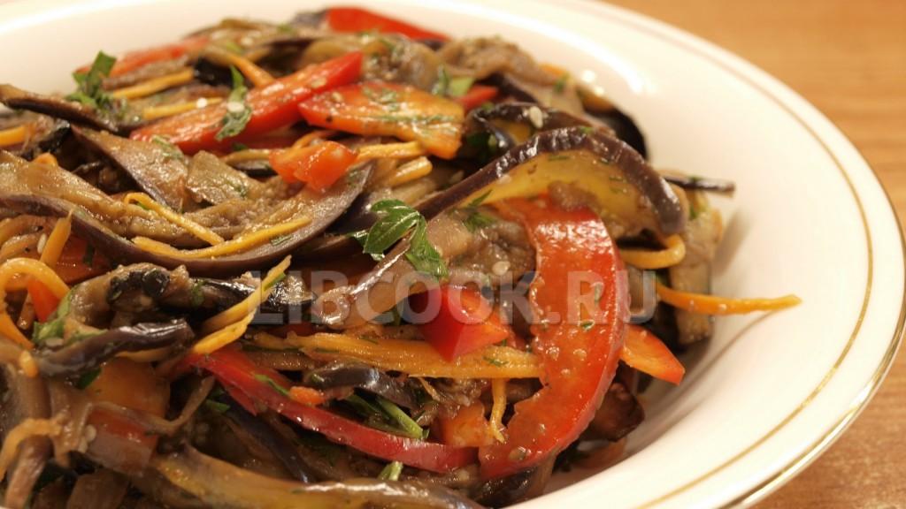 Баклажаны по корейски рецепты острые
