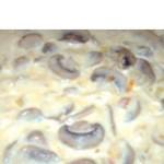 Грибочки в сливочном соусе