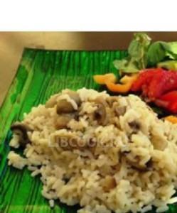 Грибы с рисом
