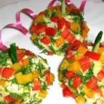 Овощной салат-гарнир