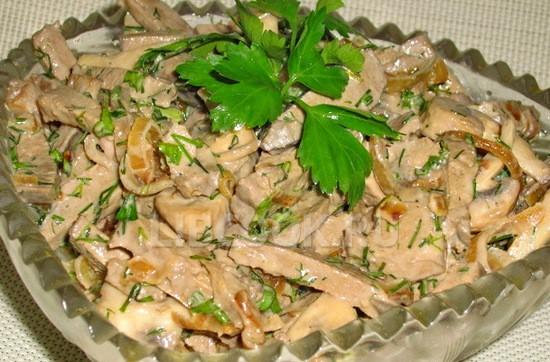 печень салат фото