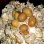 Салат «Капризуля» с курицей