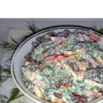 Салат «Краски осени»