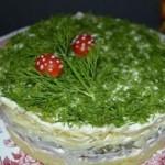 Салат «Кукареку»