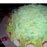Салат «Подснежник»